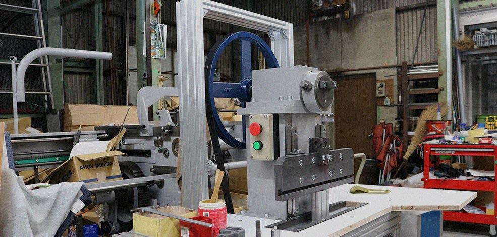 オリジナルの製品機械を作ります